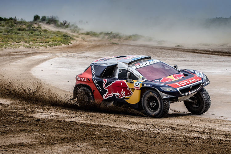 Team Peugeot-Total Leg 6 Thursday Silk Way Rally 2 CU