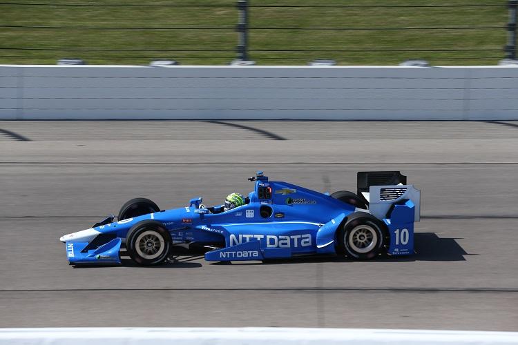 Tony Kanaan - Credit: Chris Jones / IndyCar