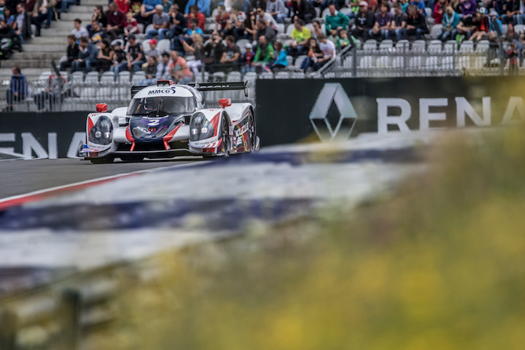 United Autosports inherited victory at the Red Bull Ring (Credit: AdrenalMedia.com)