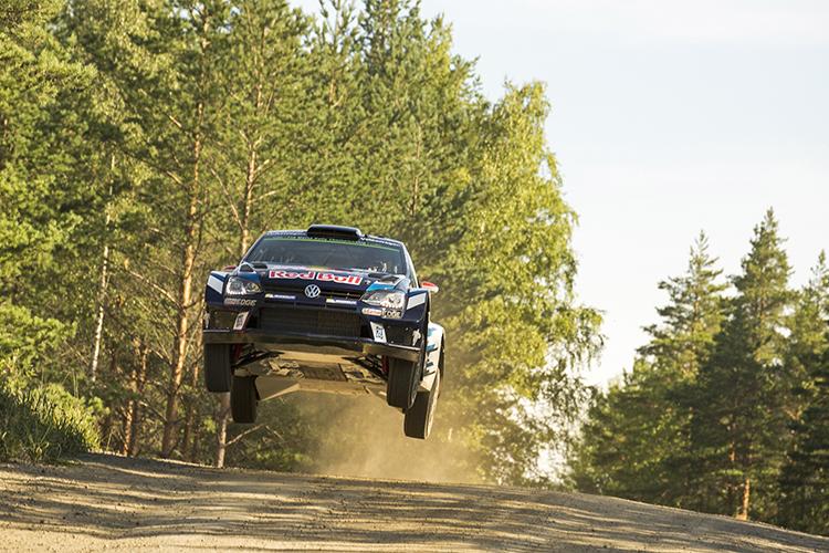 Jari-Matti Latvala (FIN), Miikka Anttila (FIN) Volkswagen Rally Finland 2016