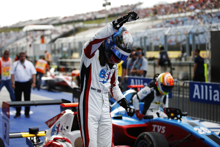 Alexander Albon (THA, ART Grand Prix)  2016 GP3 Series Round 4 Hungaroring, Budapest, Hungary Sunday 24 July 2016  Photo: /GP3 Series Media Service ref: Digital Image _W2Q7224