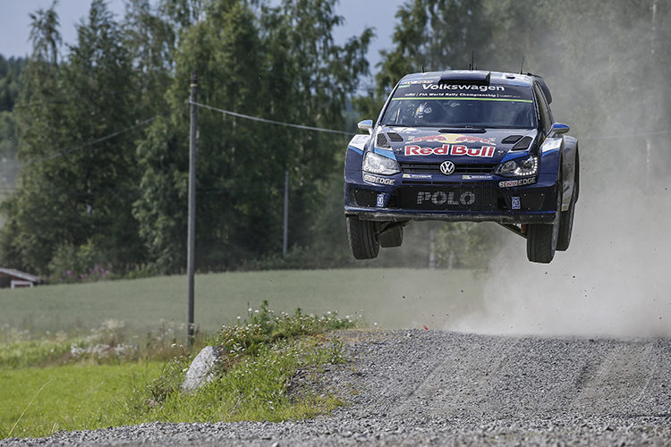 WRC Michelin Rally Finland 2015 Ogier
