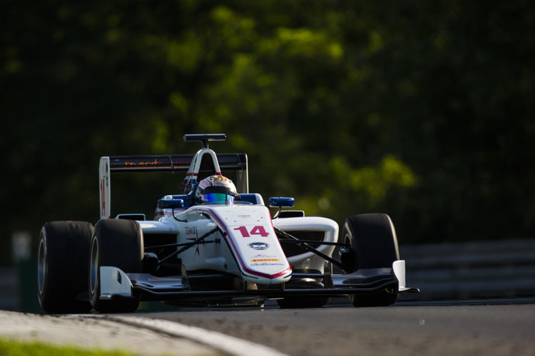 2016 GP3 Series Round 4 Hungaroring, Budapest, Hungary. Friday 22 July 2016. Matthew Parry (GBR, Koiranen GP)  Photo: Sam Bloxham/GP3 Series Media Service. ref: Digital Image _SLA6556_1