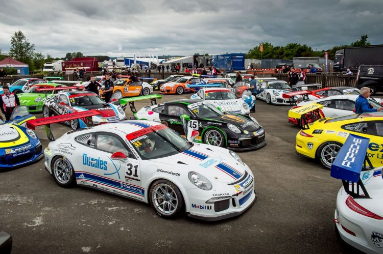 The future is bright for Carrera Cup GB. (Credit: James Lipman)