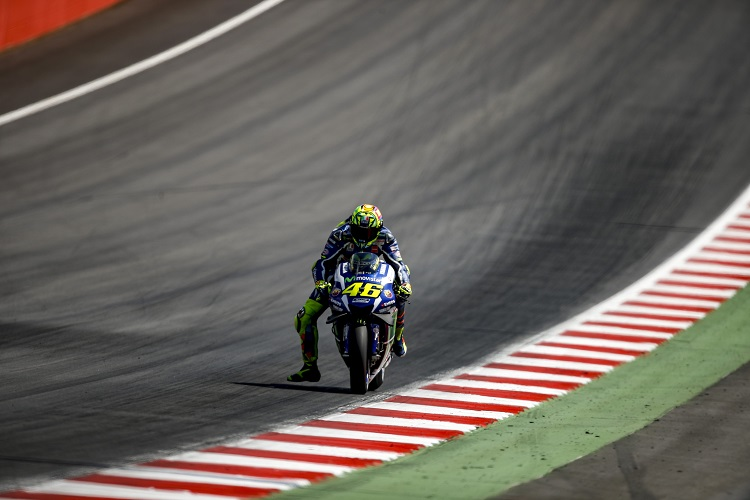 Valentino Rossi - Photo Credit: Movistar Yamaha