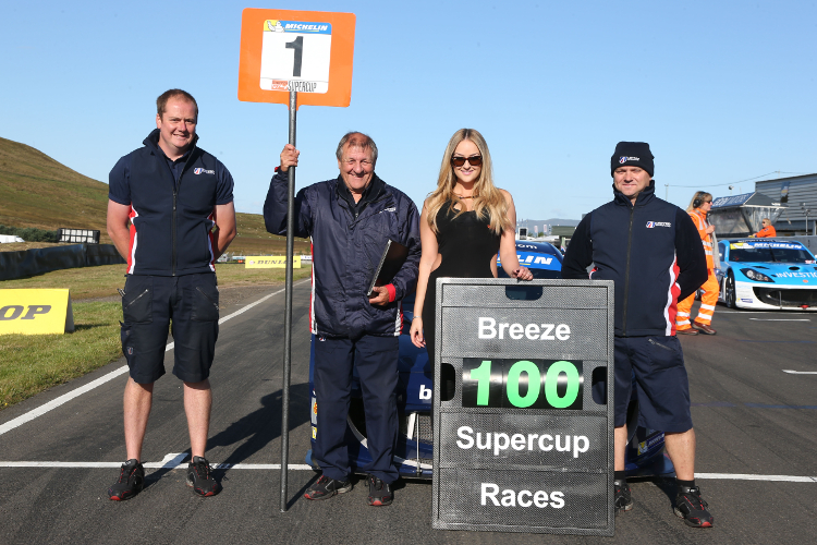 Race 100: The Championship, And Carl Breeze, Reaches It's Century Milestone
