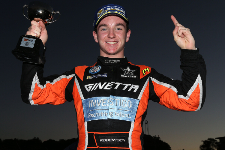 Race 107: Charlie Robertson Completes A Sensational First Season With The Title
