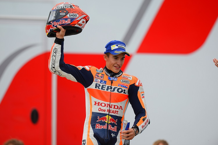 Marc Marquez - Photo Credit: Michelin