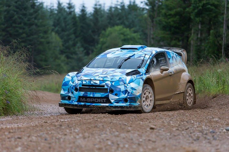 2017 M-Sport World Rally Team Ford Fiesta RS WRC gravel test