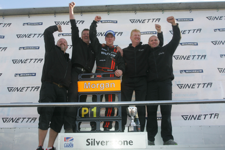 Race 27: Ciceley's Adam Morgan Becomes The First Champion At Silverstone
