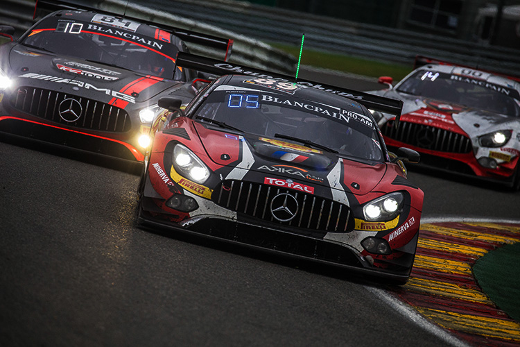 AMG-Mercedes - 2016 Total 24 Hours of Spa - Credit: Craig Robertson/Racephotography.net