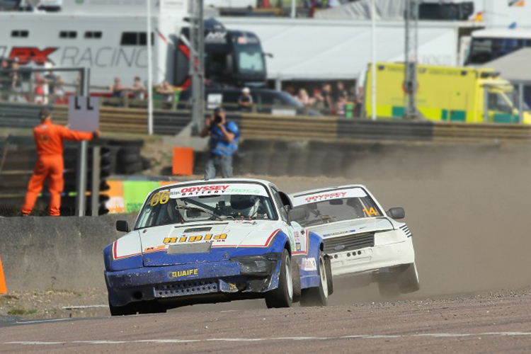 Barry Stewart - Ray Morgan 2016 Retro Rallycross Lydden Hill