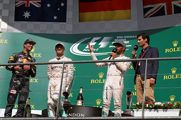 The Podium at Spa-Francorchamps - Credit: Octane Photographic Ltd