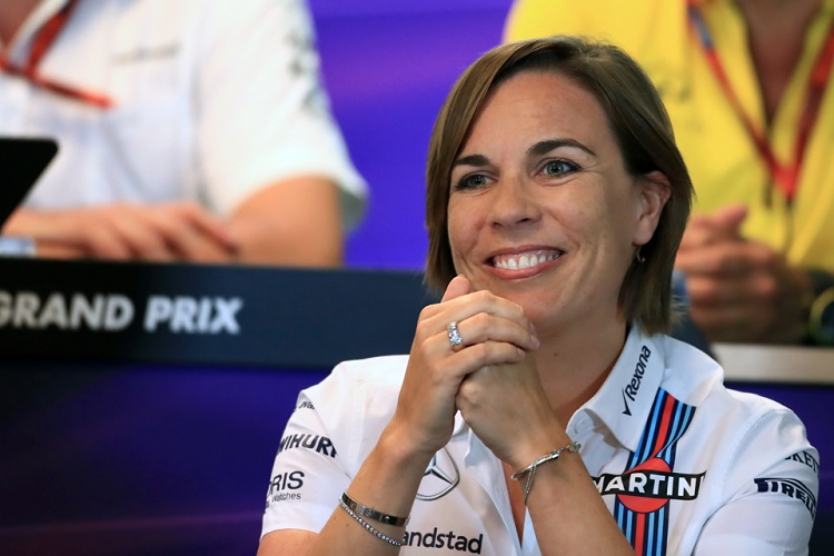 Claire Williams - Credit: Octane Photographic Ltd