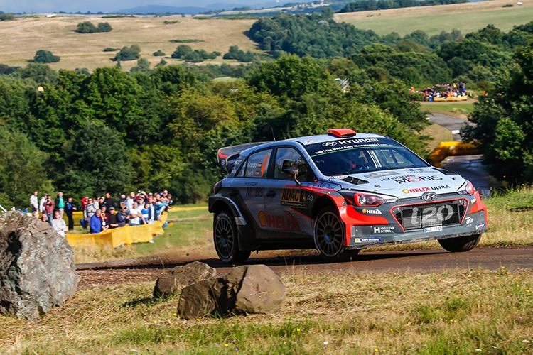 Dani Sordo Hyundai Motorsport 2016 Rallye Deutschland Day 2