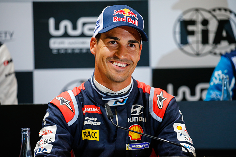 Dani Sordo Hyundai Motorsport contract extension till 2018