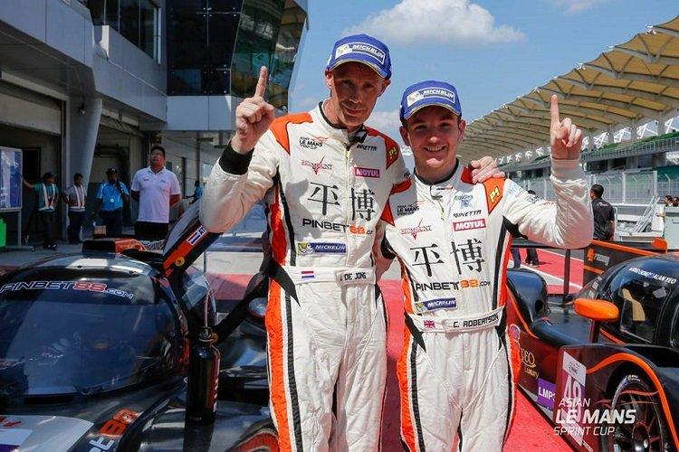 de Jong & Robertson Asian LMSC