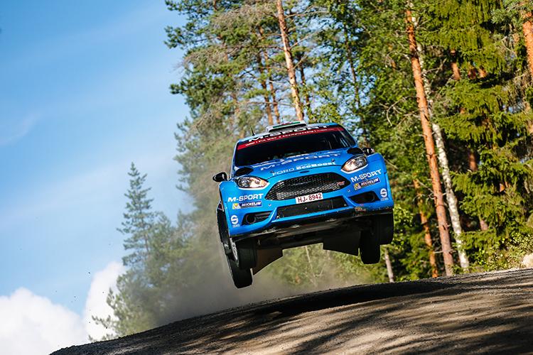 Elfyn Evans Rally Finland 2016 M-Sport