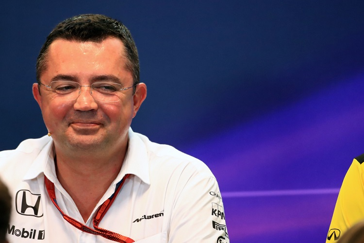 Eric Boullier - Credit: Octane Photographic Ltd
