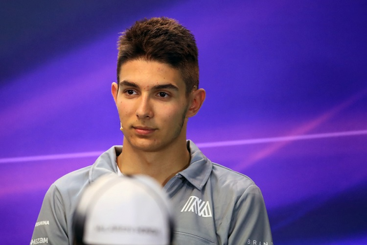 Esteban Ocon - Credit: Octane Photographic Ltd