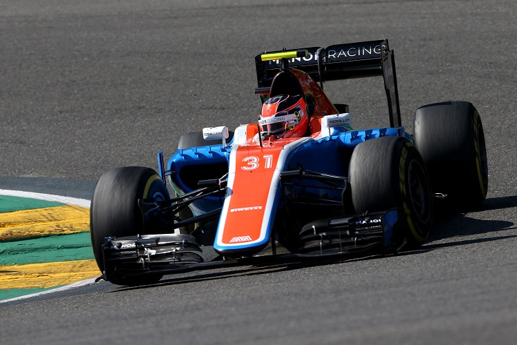 Esteban Ocon - Credit: Manor Racing