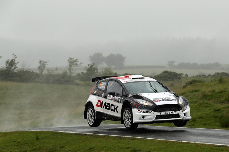 Evans-Parry 2016 MSA BRC Ulster Rally