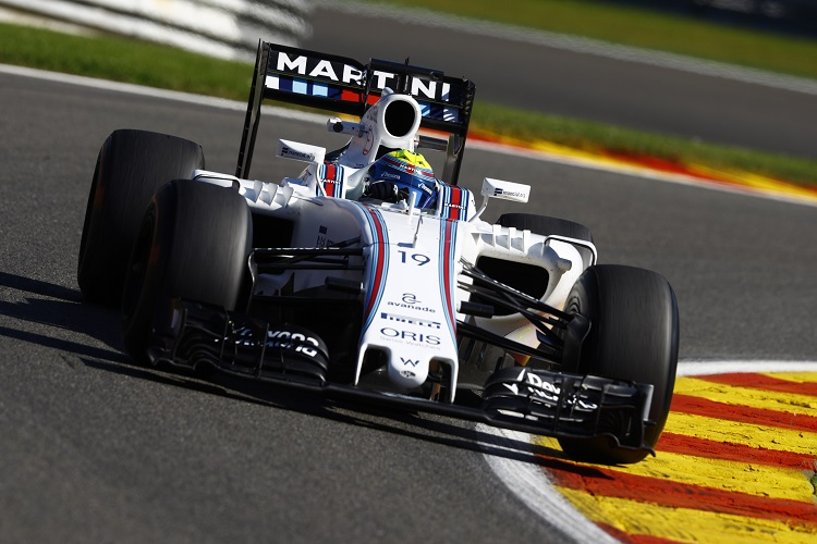 Felipe Massa - Credit: Steven Tee/Williams