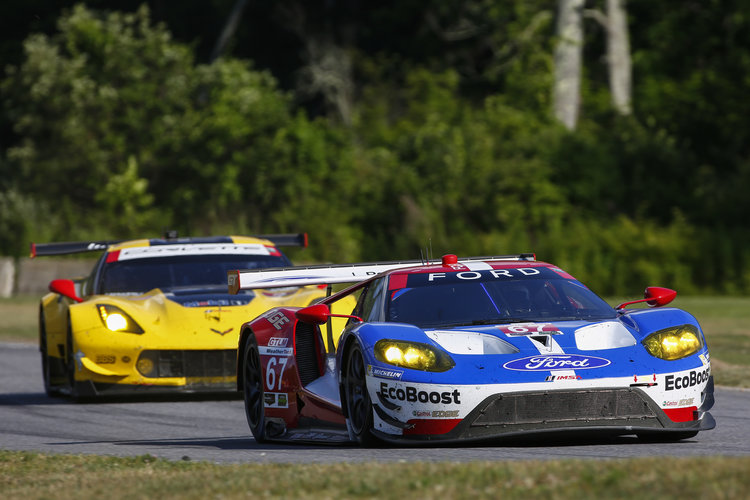 67 Ford GT - GTLM - Ryan Briscoe, Richard Westbrook - Credit: Jake Galstad / LAT Photo USA
