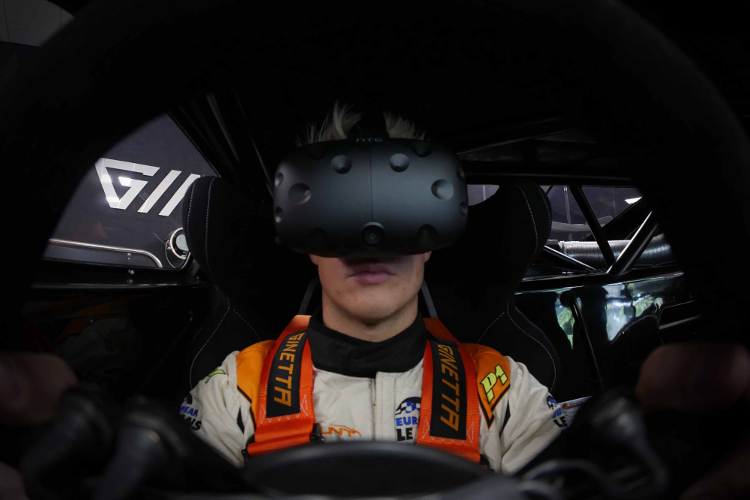 Win A Complete Virtual Reality Sim Racing Setup With Ginetta