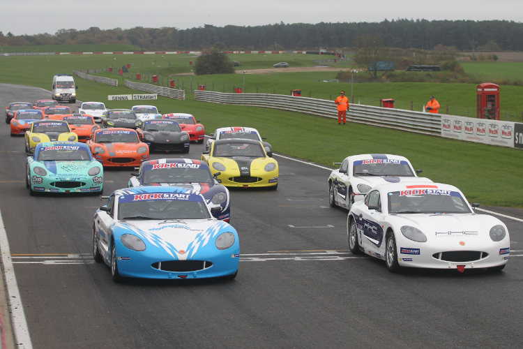 Ginetta Winter Series - Credit: Jakob Ebrey Photography