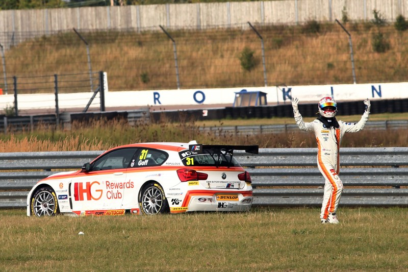 Goff endured a tough Rockingham (Photo: BTCC Media)