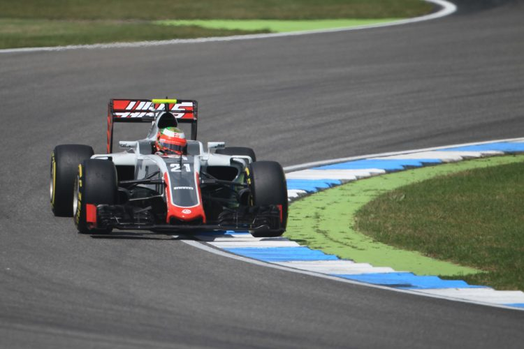 Esteban Gutierrez discusses the unpredictability of Spa (Credit: Octane Photographic Ltd)
