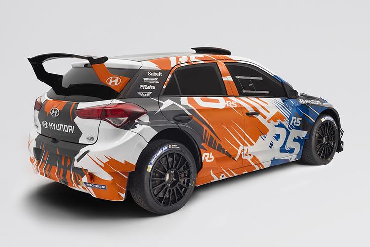 New Generation Hyundai I20 Creates Buzz At Ypres Rally