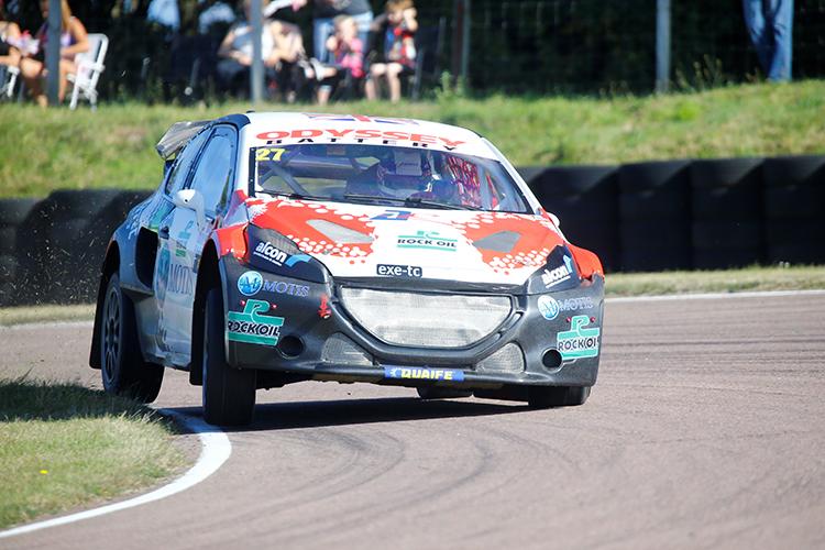 James Grint Albatec Racing 2016 British RX Lydden Hill Peugeot