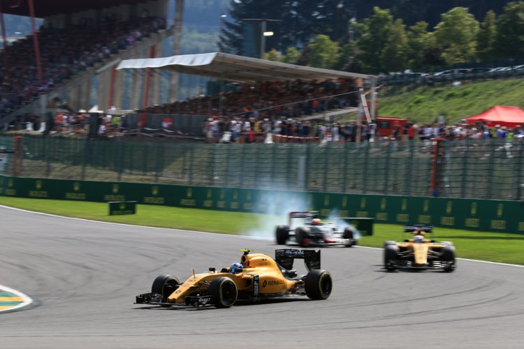 Jolyon Palmer talks about Monza (Credit: Octane Photographic Ltd)