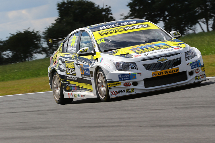 Kelvin Fletcher Power Maxed Racing Snetterton BTCC 2016 2