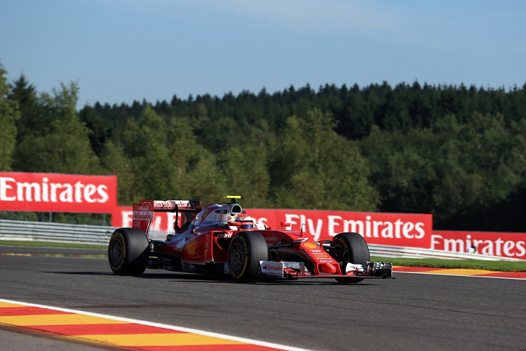 Kimi Raikkonen - Credit: Octane Photographic Ltd
