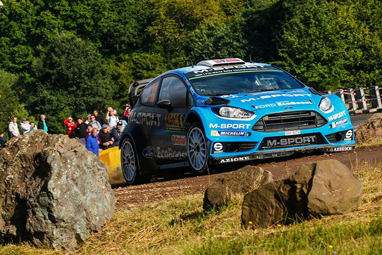 World champion Sebastien Ogier wins Rally of Germany