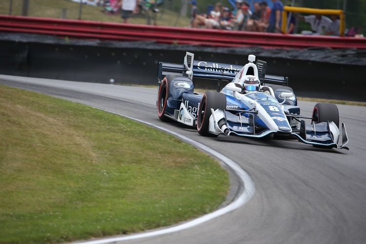 Max Chilton - Credit: Joe Skibinski / IndyCar