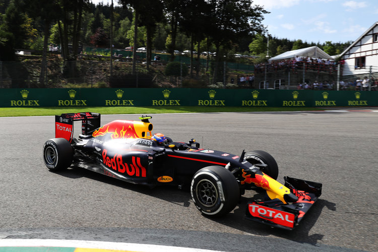 Max Verstappen - Credit: Mark Thompson/Getty Images
