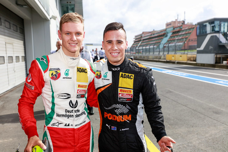 Mick Schumacher Takes Fourth Win Of Season At Home Circuit The Checkered Flag