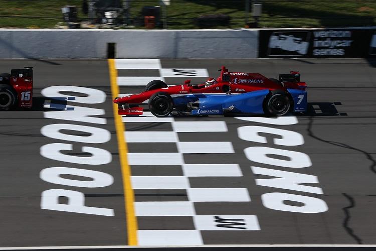 Mikhail Aleshin - Credit: Chris Jones / IndyCar