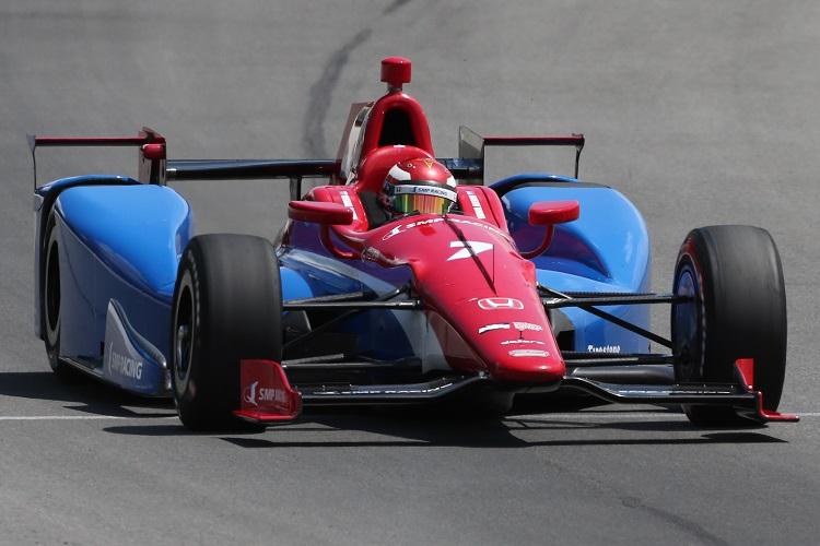 Mikhail Aleshin - Credit: Bret Kelley / IndyCar