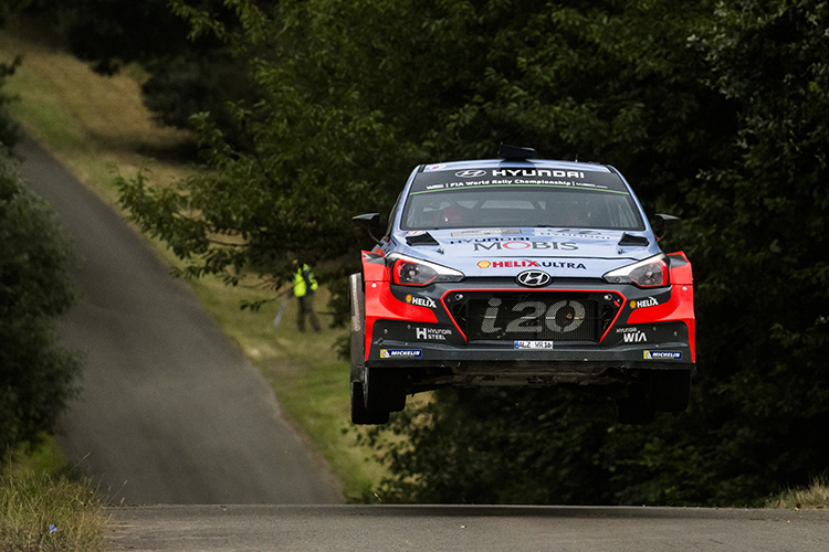 Belgium's Thierry Neuville is fourth in the Drivers' Standings after Rallye Deutschland. Credit: Jaanus Ree/Red Bull Content Pool