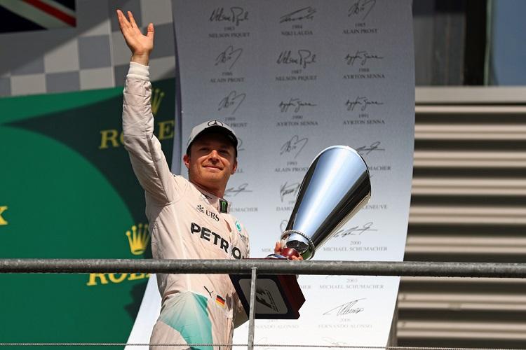 Nico Rosberg - Credit: Octane Photographic Ltd