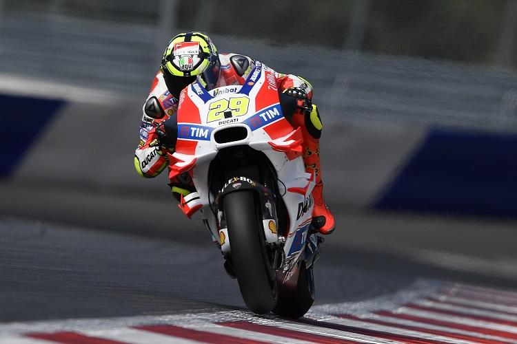 Andrea Iannone - Photo Credit: Ducati