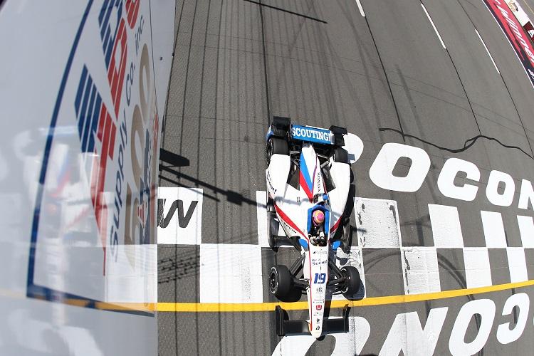 Pippa Mann - Credit: Bret Kelley / IndyCar