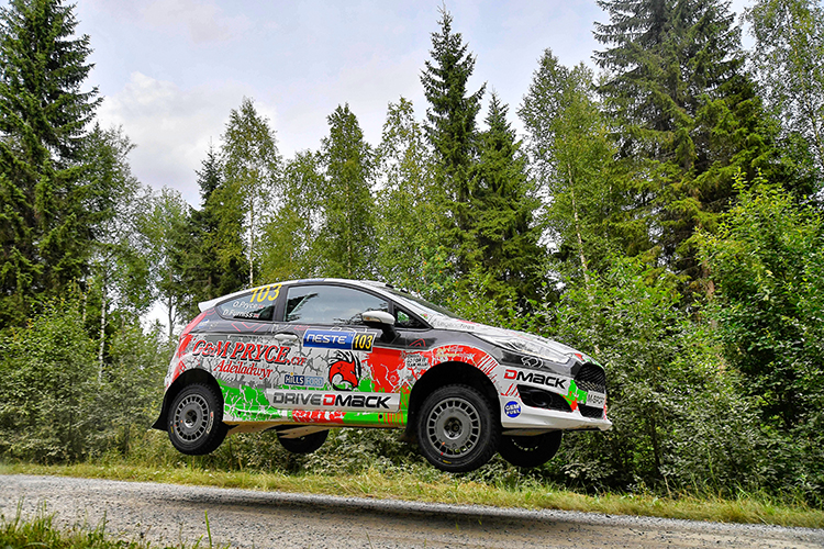 Pryce-Furniss Rally Finland 2016 Drive DMACK Fiesta Trophy
