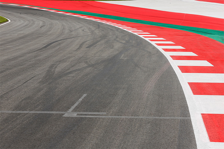 Turn 10 of the Red Bull ring before the safety changes - Credit: MotoGP