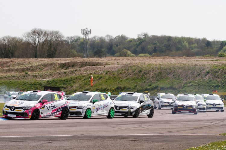 Renault Clio Cup - Credit: Jakob Ebrey Photography